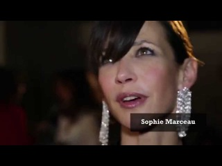 Jean Dujardin, Sophie Marceau et Pierre Niney à la soirée Madame Figaro