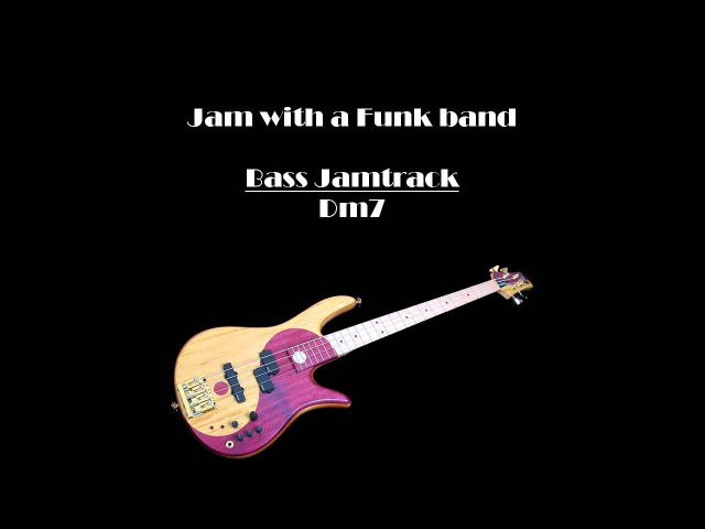 JamTrack-BASS-Funk in D
