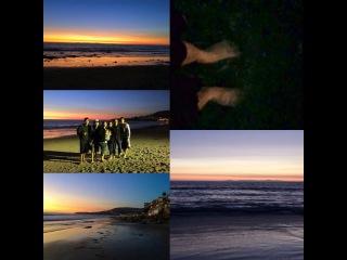 "Peniel Shin on Instagram: ""#LagunaBeach last night#relaxtime #familyvacation #sopretty어제밤에 #라구나비치 갔어요 #쉬는시간 #가족여행 #아름답다"""