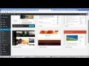Ашық сабақ 8 Wordpress құралдар тақтасымен dashboard танысу