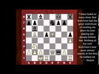 Anatoly Karpov : Top 16 Amazing Chess Sacrifices! Former World Chess Champion!