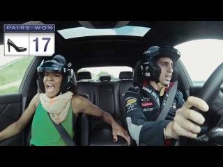 Закричал обувку протерял :) GEOX  Scream Challenge with Infiniti Red Bull Racing Team