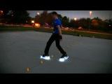 Skating in the Dark with powerslide fothon wheels