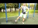 Упражнения с резиновыми петлями smartelastic для мышц ног