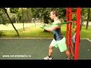 Упражнения с резиновыми петлями smartelastic для мышц груди и шеи