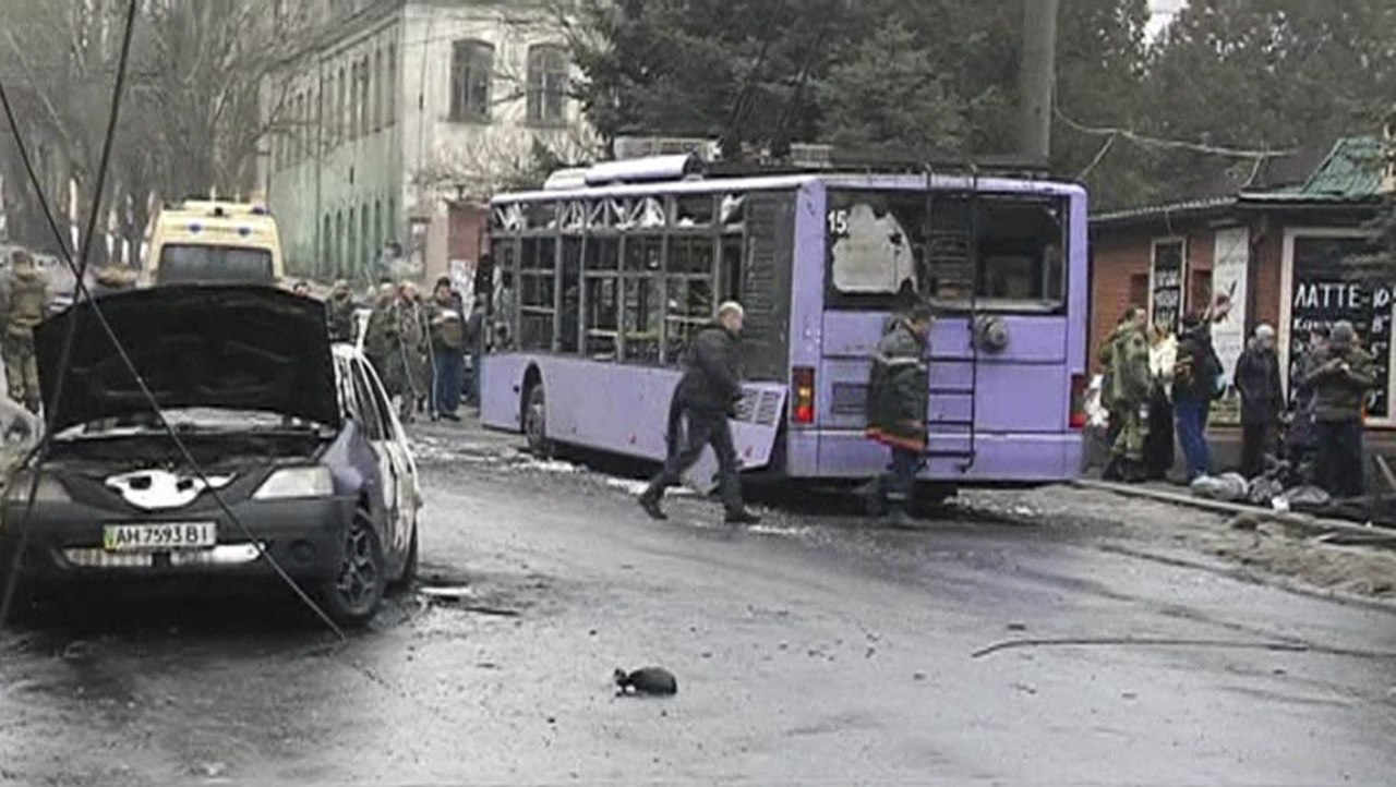 На Боссе после обстрела