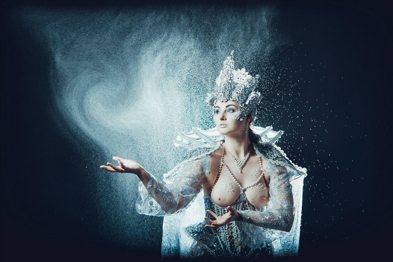Снежная королева порно арт 25 фотография