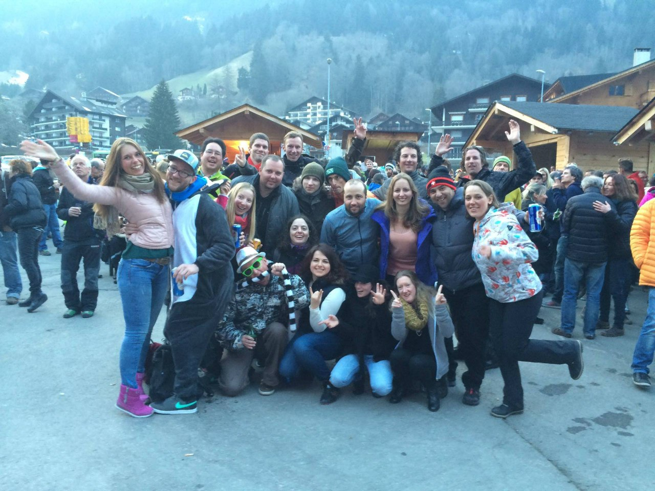 Швейцария 14-21 марта 2015