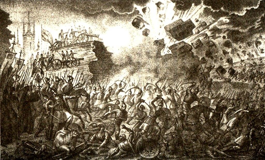 1581г. Осада Пскова Стефаном Баторием
