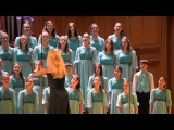 Благотворительный концерт Детского хора Весна им. А.С. Пономарёва. БЗК. 06 апреля 2014 г.