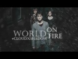 Harry Potter World On Fire (w cloudxshadow)