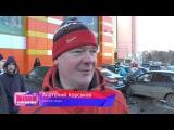 Сводка. Пожар на Воровского. Место происшествия 10.11.2015