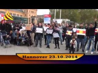 Езидская диаспора Ганновера провела митинг в поддержку Шангала