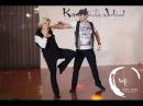 Jordan Frisbee Tatiana Mollmann- Free Style West Coast Swing demo - 2015 Korea Westie Weekend