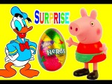 Donald Duck Masha i Medved Peppa Pig open surprise eggs Wonka Nerds Candy eggs Toys Usa