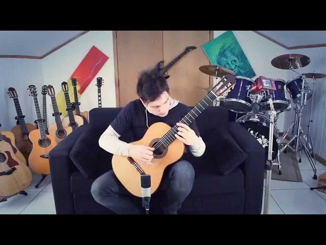 Super Mario Bros 1 Medley Fingerstyle Guitar by GuitarGamer (Fabio Lima) » Freewka.com - Смотреть онлайн в хорощем качестве
