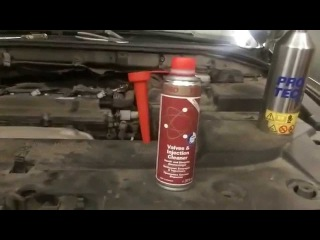 Очистка клапанов и форсунок 2.0 бензин Toyota Avensis очистителем Pro Tec (Про Тек)