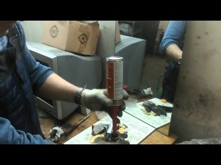 Очистка клапанов и форсунок 2.0 HDI Peugeot 807 очистителем Pro Tec (Про Тек)