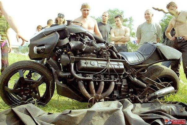 Мотоцикл своими руками, Война 5000
