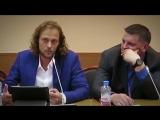 Артем Артемьев на встрече координационного совета блоггеров Суверенитет России.15