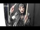 Black Veil Brides' CC (Christian Coma) shows Rhythm some stick tricks