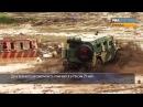 Тигры и военные КамАЗы покорили размытый дождем полигон