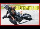 Course moto : La fessée à la française façon SUPERMOTARD ! (English Subtitles) SuperMotoRu