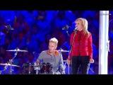 Ольга КОРМУХИНА  Алексей БЕЛОВ (Gorky Park) - MOSCOW CALLING Закрытие Олимпиады в Сочи, 2014