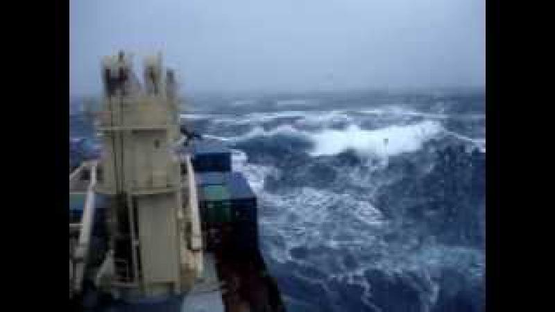 Атлантический океан Шторм 9 баллов