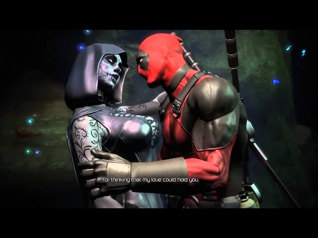 Deadpool Cutscene Deadpool And Death Lady Hot Romance In Boat HD
