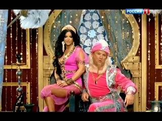 Новогодний мюзикл Новые приключения Аладдина . Эфир от 31.12.2011.