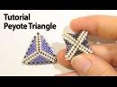 BeadsFriends: Basic Peyote Tutorial - How to make a triangle using Peyote Stitch