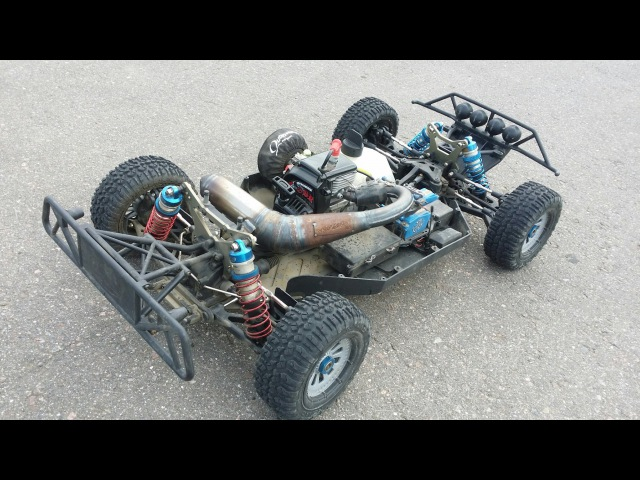 ЛОСЬ часть 10 ... OBR Power, 7.9 л.с. 34cc, Losi 5T