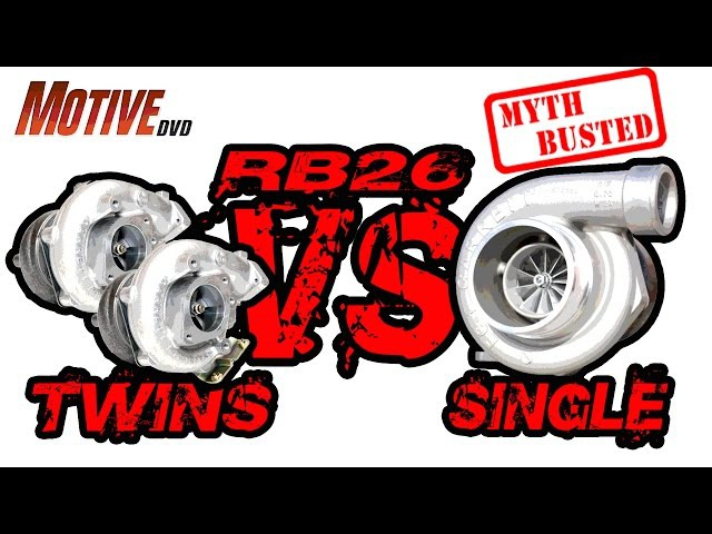 GT-R RB26 Twins vs Single Turbo - MYTHBUSTED
