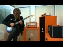 Jim Root Orange Rockerverb 100 MKIII Guitar Amp