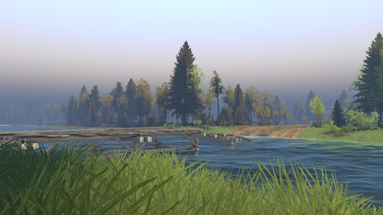 """Карта """"Выборг"""" для 13.04.15 для Spintires - Скриншот 2"""