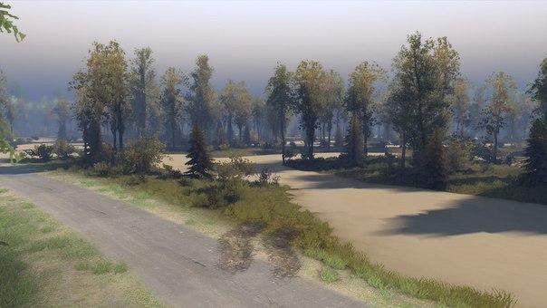"""Карта """"Ежово"""" версия 2 для Spintires - Скриншот 1"""