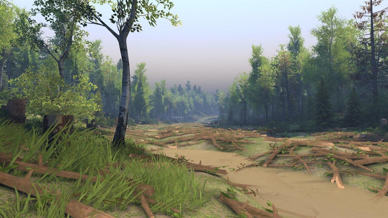 """Карта """"Выборг"""" для 13.04.15 для Spintires - Скриншот 3"""