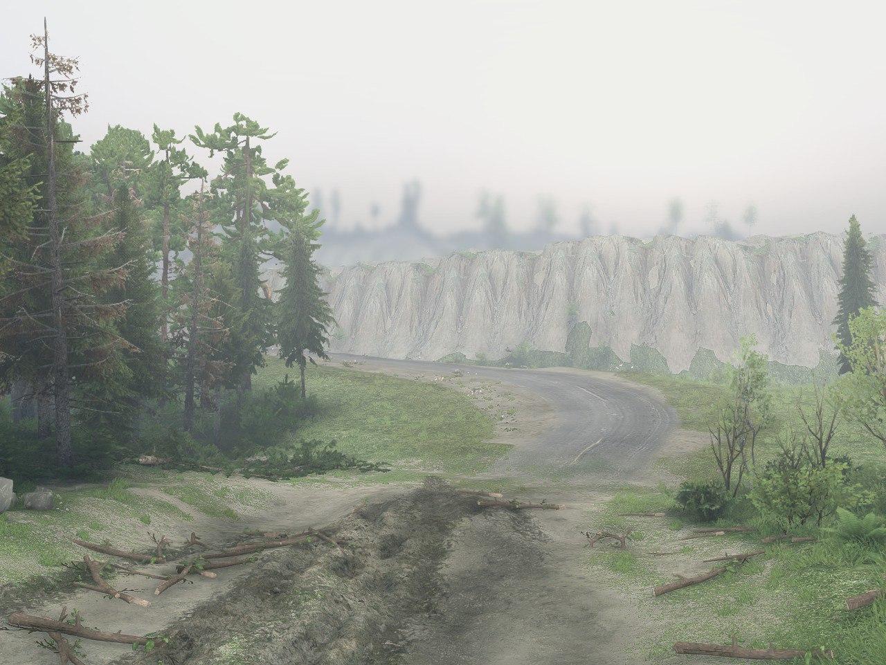 """Карта """"Proba"""" для 13 04 15 для Spintires - Скриншот 1"""