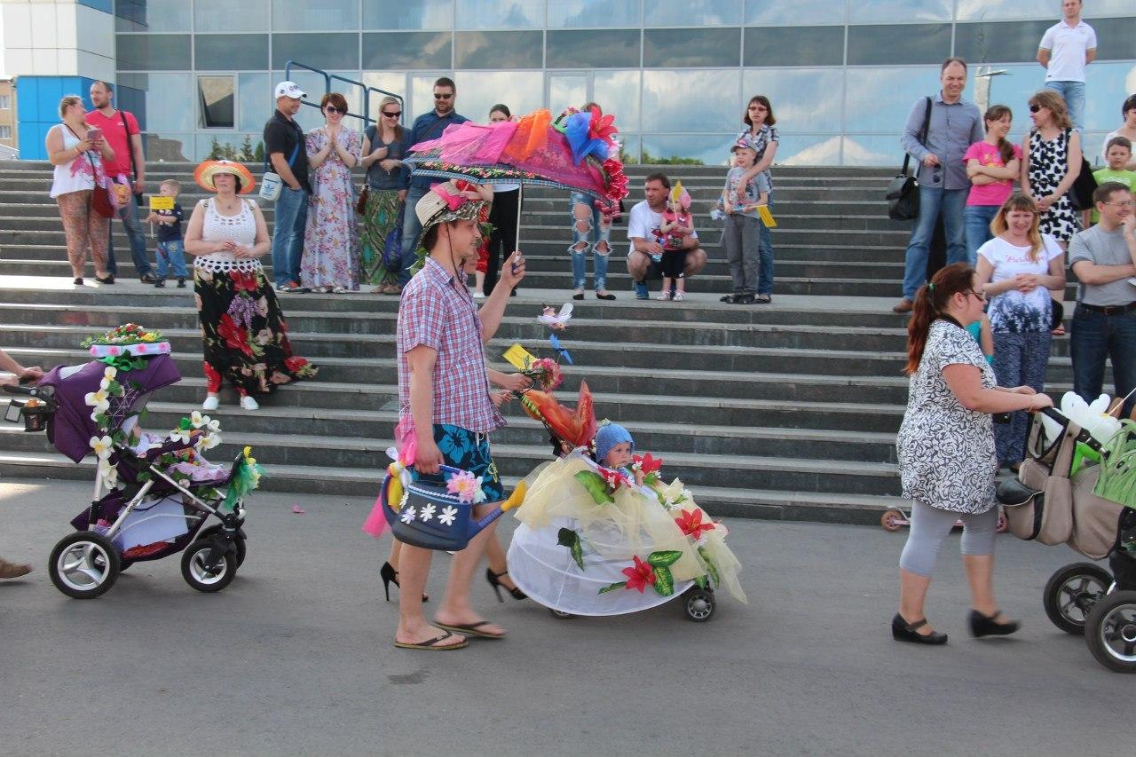 В Рыбинске пройдёт парад колясок