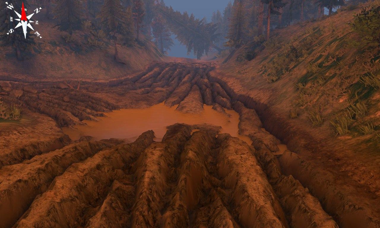 """Карта: """"Уральские горы""""для версии игры 03.12.14 для Spintires - Скриншот 2"""