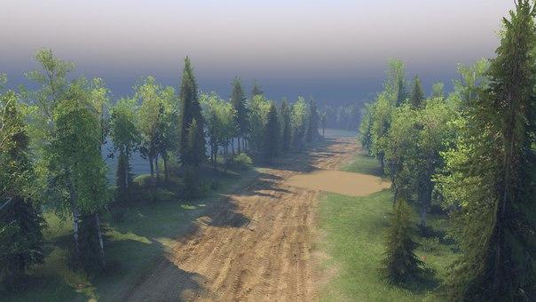 """Карта """"Ежово"""" версия 2 для Spintires - Скриншот 3"""