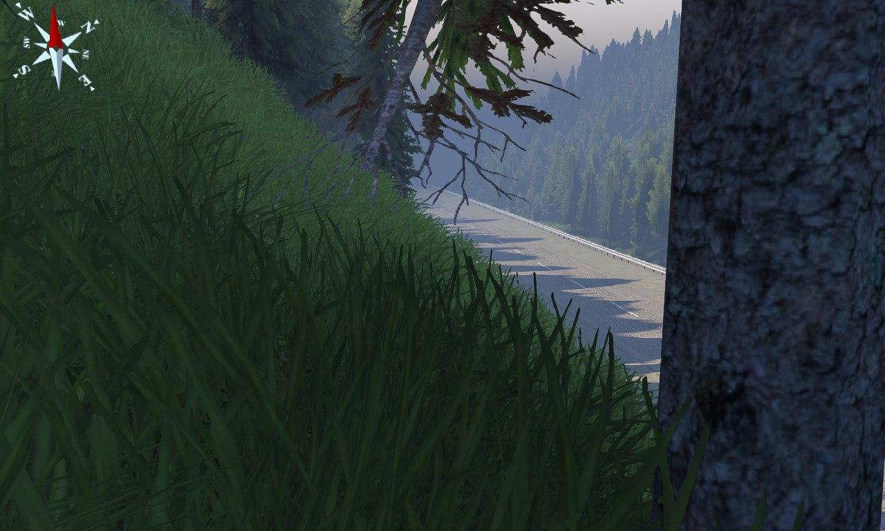 """Карта: """"Уральские горы""""для версии игры 03.12.14 для Spintires - Скриншот 1"""