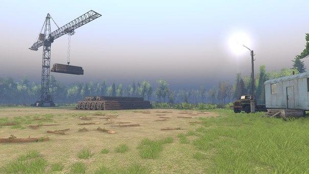 """Карта """"Ежово"""" версия 2 для Spintires - Скриншот 2"""
