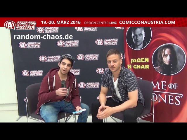 Tom Wlaschiha JAQEN H'GHAR Comic Con Austria 2016 Interview