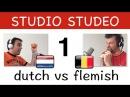 Les 1: Leer Vlaams ! Verschillen tussen Nederlands in Holland en België