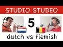 Leer Vlaams - les 5! Verschillen tussen Nederlands in Holland en België