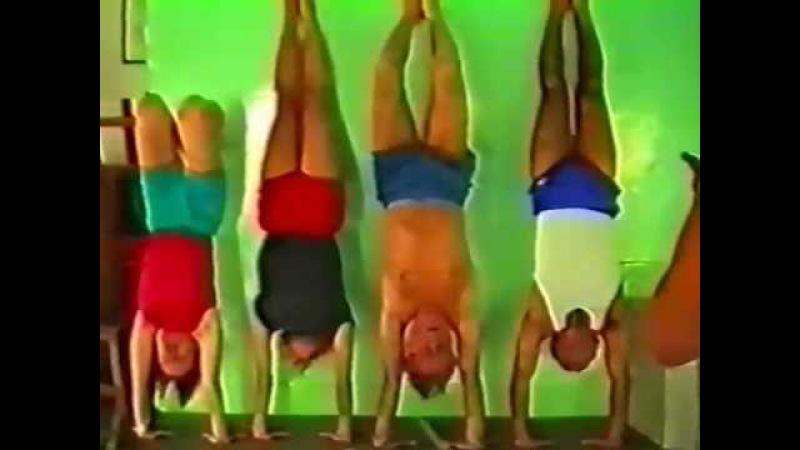 Back bends asanas - Pune 1991 (part 3)