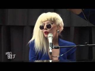 Lady Gaga - You And I(Live at Amp Radio)