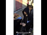 "INFINITE HONG KONG FANPAGE on Instagram: ""????? 20151009 Sungkyu & Seongyeol? Showing up at the venue 遲到的兩位ㅋㅋㅋㅋ 都很匆&#24"